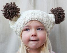 Ravelry: The Sierra Pom Pom Hat pattern by Naturally Nora