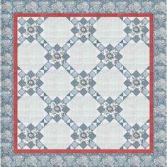 Hollyhill Quilt Shoppe & Mercantile, LLC Le Bouquet Francais Espalier quilt kit