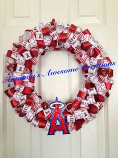 Los Angeles Angels Of Anaheim Baseball By AmandasCreations11 4000
