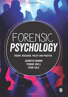Johanna anderson nsslibrarian on pinterest forensic psychology theory research policy and practice by jennifer brown 2015 fandeluxe Choice Image