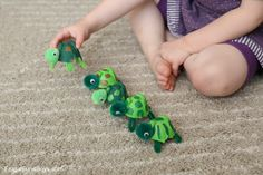 Egg Carton Turtle Craft
