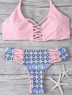 SHARE & Get it FREE | Criss-Cross Tribal Print BikiniFor Fashion Lovers only:80,000+ Items • New Arrivals Daily Join Zaful: Get YOUR $50 NOW!