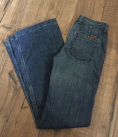 7FAM 7 For all Mankind Womens Sz 26 Georgia High Waist Flare Peking Dark Jeans #7ForAllMankind #GeorgiaHighWaistFlare