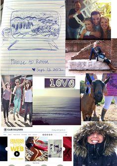 2012 photo collage