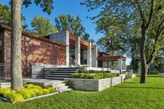 How You Can Reduce The Size Of Your Lawn With Garden Space - House Garden Landscape Landscape Steps, Landscape Design, Lawn And Garden, Home And Garden, Stone Edging, Concrete Pavers, Contemporary Landscape, Garden Spaces, Backyard