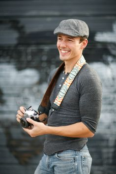 Shoot in style with a mod. camera strap! #modstraps.com