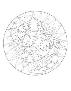 Free Mandalas page «mandala-to-color-animals-free-owls». Cute and ...