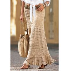 Crochet maxi skirt PATTERN crochet skirt by CONCEPTcreative, $12.00