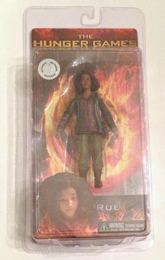 NECA The Hunger Games District 11 Rue 7 inch Action Figure Exclusive Collectors