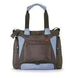 Bento Diaper Bag in Blue/Gray