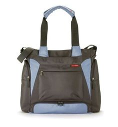 Bento Diaper Bag in Blue/Gray