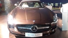 An SLS AMG Roadster by Mercedes-Benz in chocolate brown Jeddah, Chocolate Brown, Mercedes Benz, Luxury