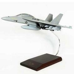 F/A-18F Super Hornet Military Aircraft Model