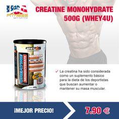 ¿Aún no conoces #CREATINE #MONOHYDRATE 500G de la marca #WHEY4U? ¡Buenos productos a buenos precios!   http://usafitness.es/es/creatinas/2260-creatine-monohydrate-500g.html