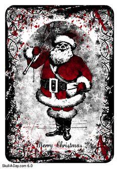 Dark Christmas Cards