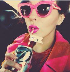 Isayama-Visser Isayama-Visser Lynn in quay Australia sunglasses. I need these ASAP! Cute Sunglasses, Cat Eye Sunglasses, Sunnies, Quay Australia Sunglasses, Girly Girl, Retro Fashion, Eyeglasses, Eyewear