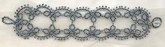 Beaded Lace - Perlenspitze bracelet pattern