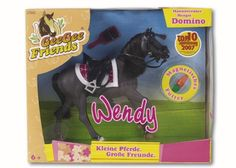 """Wendy/Gee Gee Friends/Saddle Pals  - Hanoverian Stallion """"Domino"""" Comic Books, Horses, Comics, Toys, Friends, Cover, Art, Activity Toys, Amigos"""