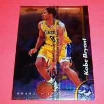$7.95 - Kobe Bryant 1998-99 Finest Oversized #10 with Coating *RARE CARD!* Los Angeles Lakers FREE SHIPPING!  Sells for more on eBay! Get this rare Kobe card today! Photo shows exact card for sale. Shipped First Class Mail in top loader and padded envelope...