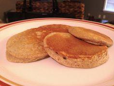 Oatmeal pancakes. No Flour!