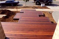 Timber Decking Ideas by Features In Timber