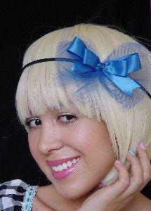 party-hair-bow-royal-blue-satin-tulle-headband-wedding-bridesmaids