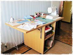 Mesa plegable de costura (I)