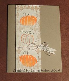 Holmade Laura: Stampfest with Lynette Oct. 22, 2014