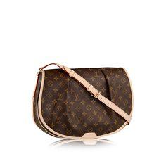 Discover Louis Vuitton Menilmontant MM via Louis Vuitton.....My next bag.