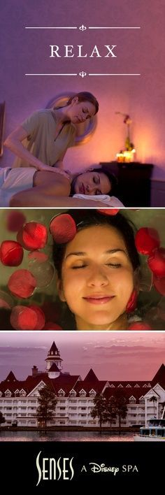 Today is YOUR day. Make time for some rest and relaxation. Slip into an even deeper state of relaxation with a soothing Swedish massage or the Sweet Red Rose Anti-Aging Body Treatment, at Senses – A Disney Spa. Make it a spa day by booking a package by calling 407-WDW-SPAS. Services subject to change. #DisneyWorld