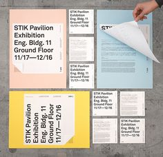 STIK Pavilion Exhibition on Behance in Branding & Identity