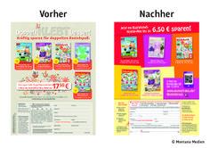 Vorher <-> Nachher: Neuentwicklung der #Abowerbung für ein Kombi-Abo-Angebot, bestehend aus 2 #Bastel-Zeitschriften: Angebot: #Kombi-Abo mit Preisvorteil, #Werbemittel: 1/1-Anzeige, Response-Aktivierung über Coupon, Deeplink und QR-Code, I © Montana Medien, Hamburg - Dezember 2013 I Bestellen Sie das #Kombi-Abo unter: www.wunsch-abo.de/bastelspass #Direktmarketing, #Abonnement, #Print, #Verlage, #CRM, #Abomarketing, #Bastel-Kombi, #Aboanzeige, #Dialogmarketing, #OZ-Verlag #Montana Medien…