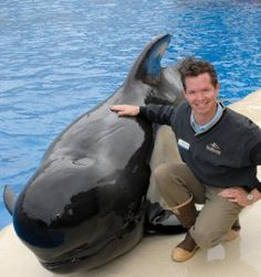 "GOOGLE ""BLACKFISH"" and then you'll understand why this sucks.  SeaWorld San Diego, a pilot whale"