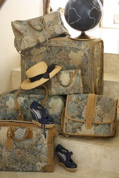 Pretty luggage & shoes