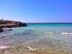Beach between Sa Rapita and Ses Covetes, Mallorca, Spain.