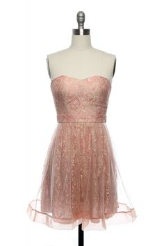 The Princess and the Pink Dress from laceaffair.com