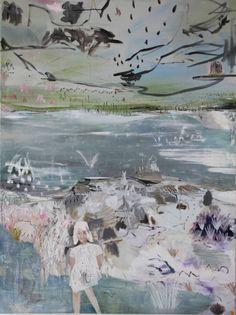 "Saatchi Art Artist Kevin A Rausch; Painting, ""...das,was wir den fortschritt nennen, ist dieser sturm-angelus novus "" #art"