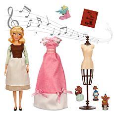 Cinderella Deluxe Singing Doll Set - 11''
