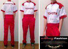Mekanik Toyota. www.ahoyfashion.com