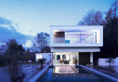 White Lodge by Dyer Grimes Architects