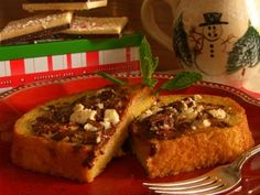 Peppermint Bark French Toast #recipe | Carefree Cooking Magazine