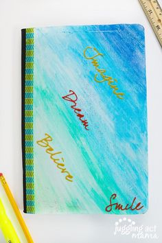 DIY Notebook Cover - Juggling Act Mama