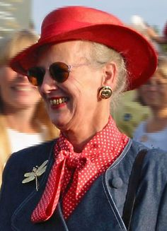 Queen Margrethe II of Denmark in 2004.