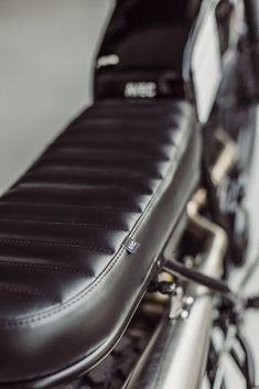 Avec & Co   AVEC – Moto TW125 #17 Tw Yamaha, Tw 125, Tracker Motorcycle, 125cc, Scrambler, Bike, Vintage, Cars, Air Filter