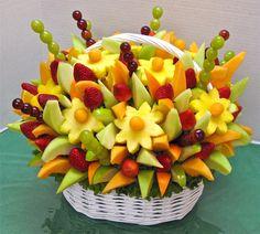 15 ways to decorate fruit |