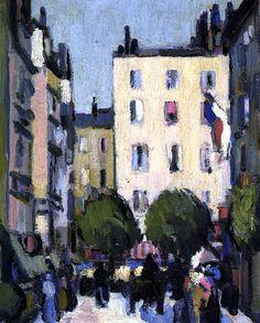 Paris John Duncan Fergusson - 1907