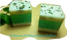 Herbal Melissa Honey Soap by Eleni by ElenisLittleShop on Etsy