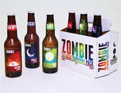 Zombie Beer for our #beer loving #packaging peeps PD