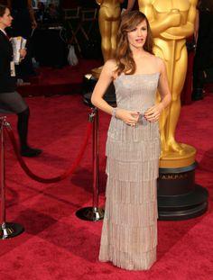 Jennifer Garner in Oscar de la Renta   Academy Awards 2014