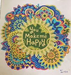 Coloreando Coloring Del Libro Beautiful Day De Youngmipark